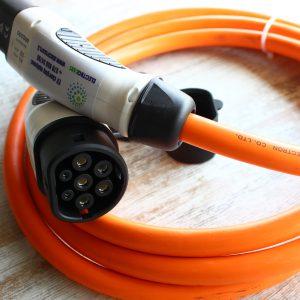 Зарядный кабель TYPE2-TYPE2