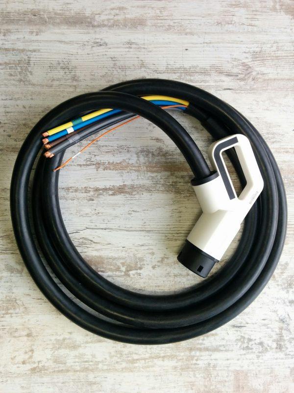 Plug TYPE2 63A ONLY vehicle side 400V