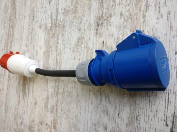 Power adapter 32A400VAC-32A230VAC