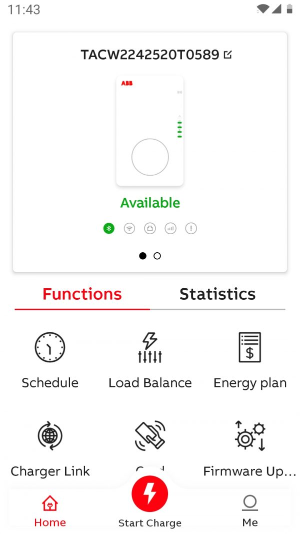 Charger sync functions