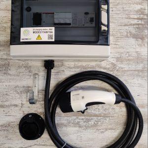 Elektromobilio įkrovimo stotelė BEE 11kW 16A 400VAC TYPE2 plug